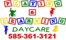 Playing and Learning Daycare